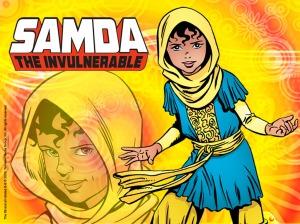 Samda the Invulnerable, from Kuwaiti comic The 99