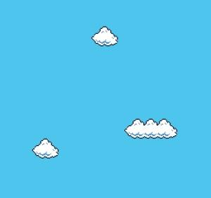 Super Mario Clouds