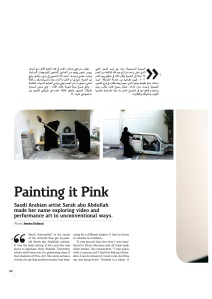 Alef issue 9_Painting it Pink_Jessica Holland (2) (1)